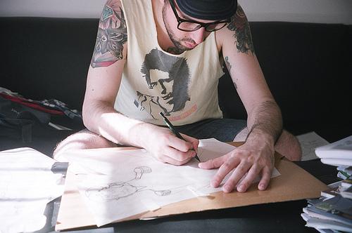 Como é o trabalho de um tatuador (31)