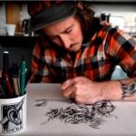 36 fotos de tatuadores trabalhando