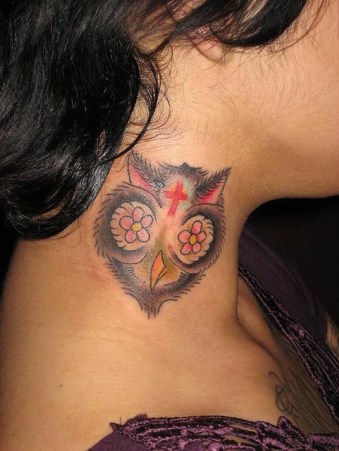 Tatuagens criativas de corujas (156)