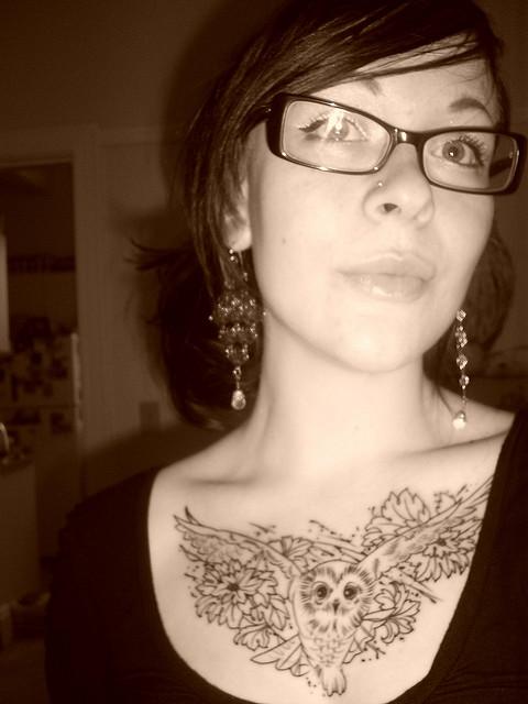 Tatuagens criativas de corujas (155)