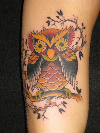 Tatuagens criativas de corujas (152)