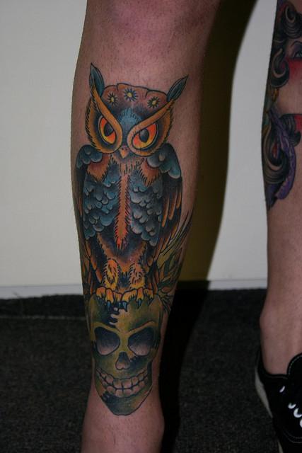Tatuagens criativas de corujas (151)
