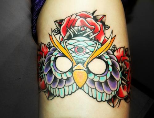 Tatuagens criativas de corujas (60)