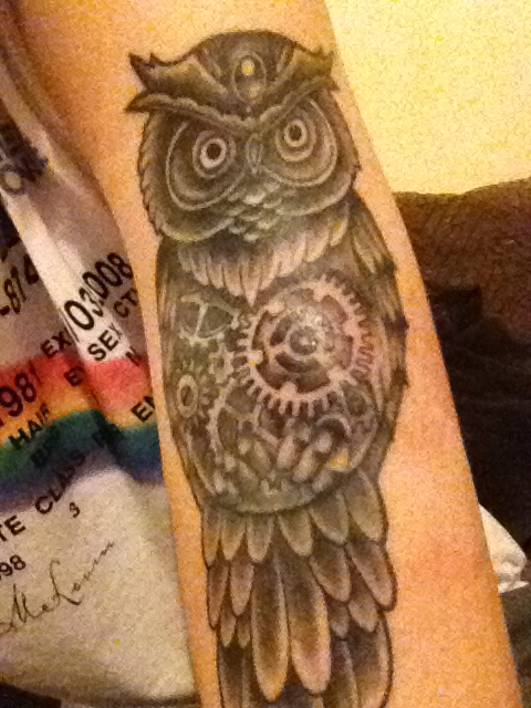Tatuagens criativas de corujas (57)