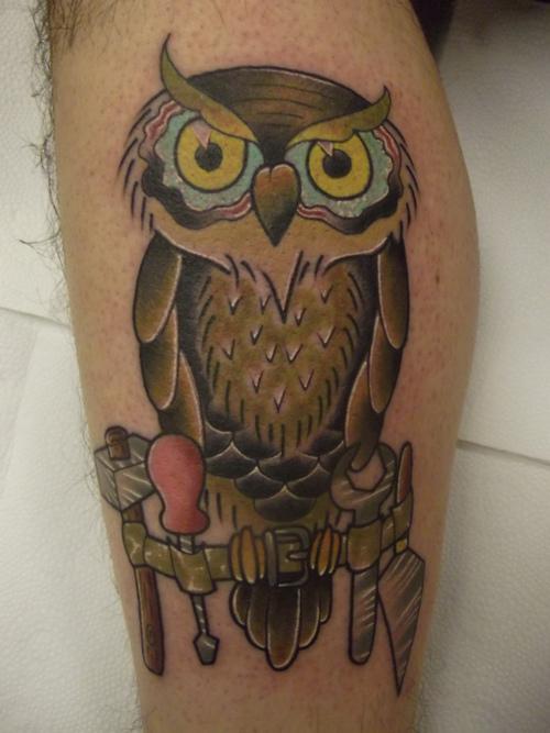 Tatuagens criativas de corujas (54)