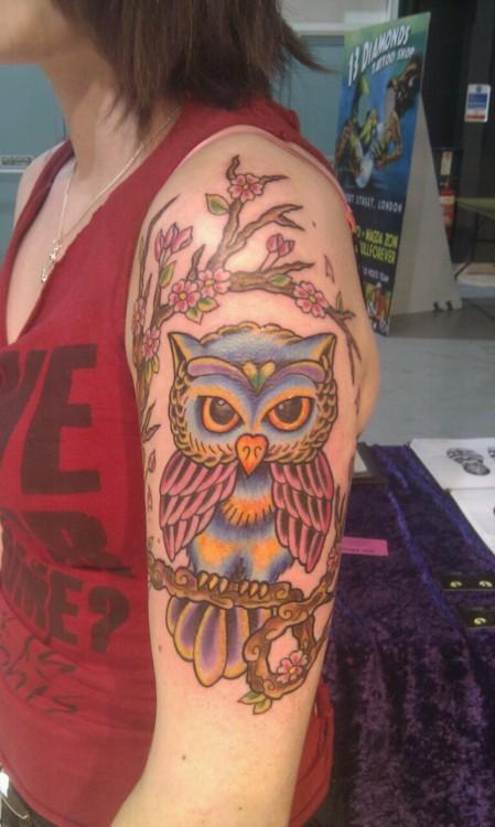 Tatuagens criativas de corujas (51)