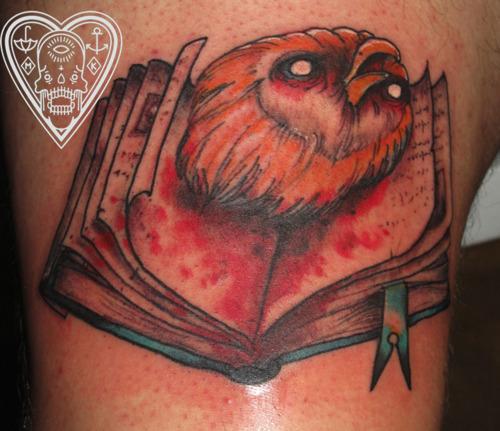 Tatuagens criativas de corujas (149)