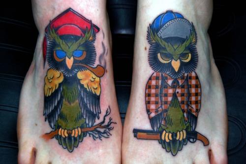 Tatuagens criativas de corujas (47)