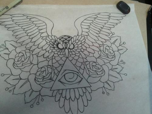 Tatuagens criativas de corujas (45)