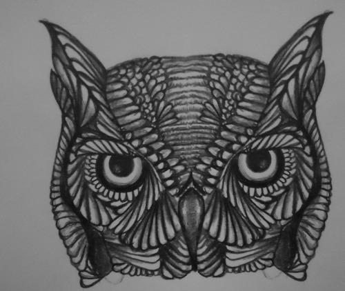 Tatuagens criativas de corujas (39)