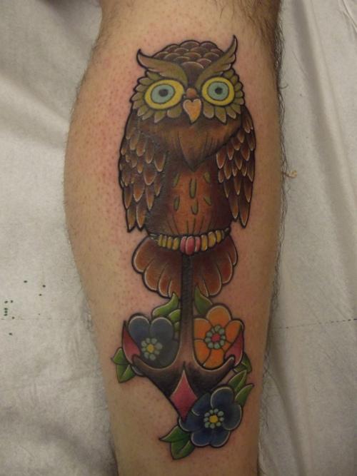 Tatuagens criativas de corujas (38)