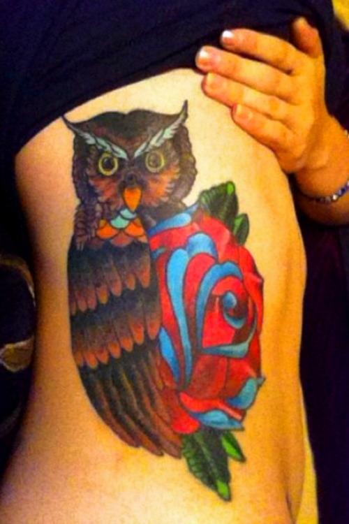 Tatuagens criativas de corujas (34)