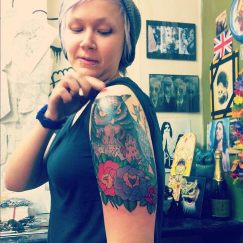 Tatuagens criativas de corujas (33)