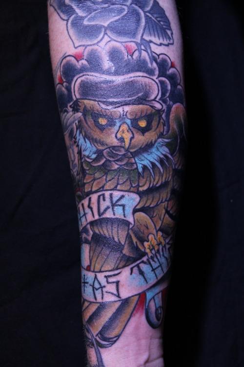 Tatuagens criativas de corujas (32)