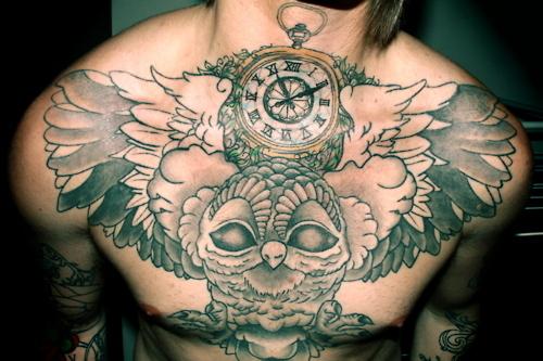 Tatuagens criativas de corujas (147)