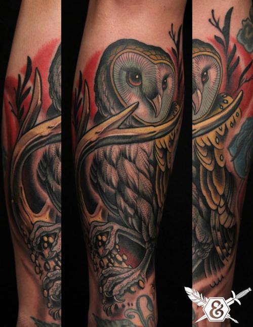 Tatuagens criativas de corujas (30)