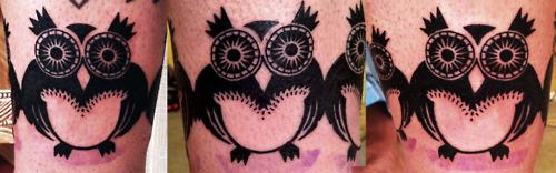 Tatuagens criativas de corujas (29)