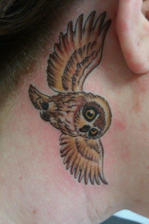 Tatuagens criativas de corujas (28)