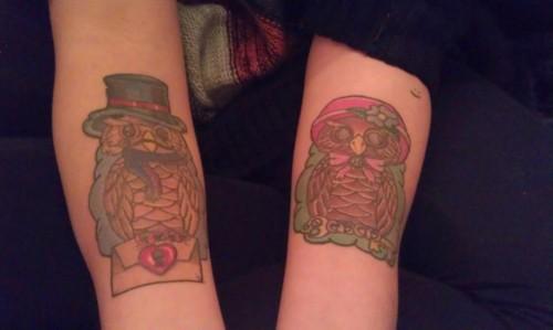 Tatuagens criativas de corujas (25)