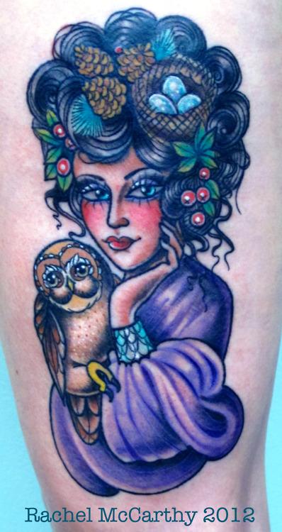 Tatuagens criativas de corujas (22)