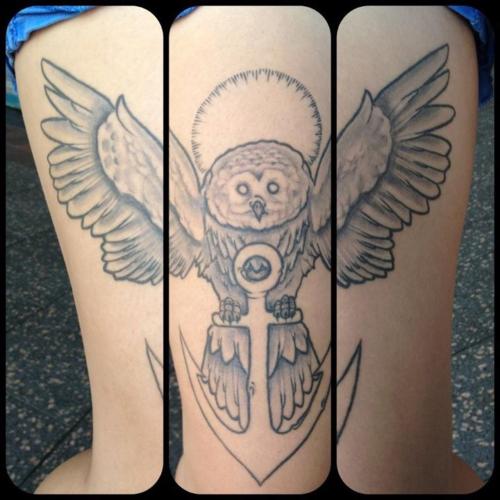 Tatuagens criativas de corujas (21)
