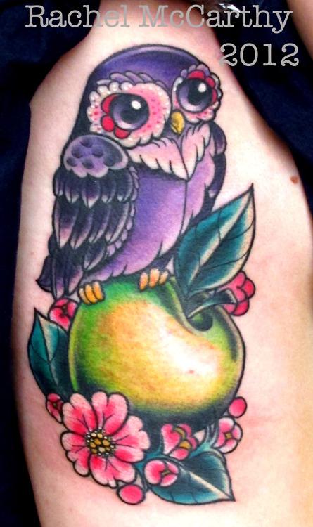 Tatuagens criativas de corujas (19)