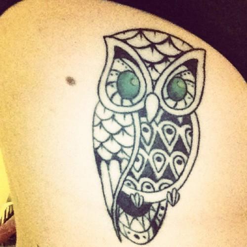 Tatuagens criativas de corujas (13)