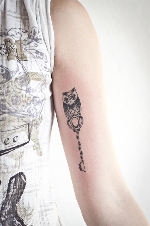 Tatuagens criativas de corujas (11)