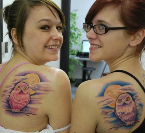 Tatuagens criativas de corujas (9)