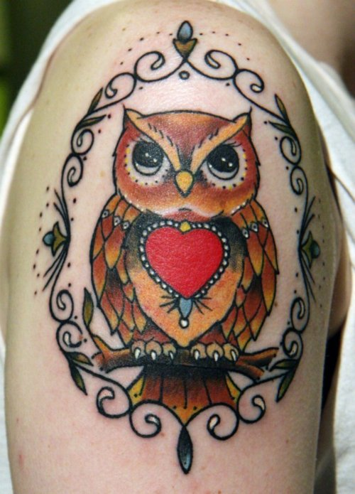 Tatuagens criativas de corujas (7)