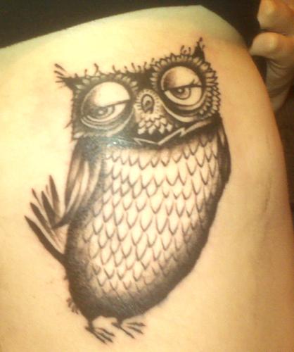 Tatuagens criativas de corujas (6)