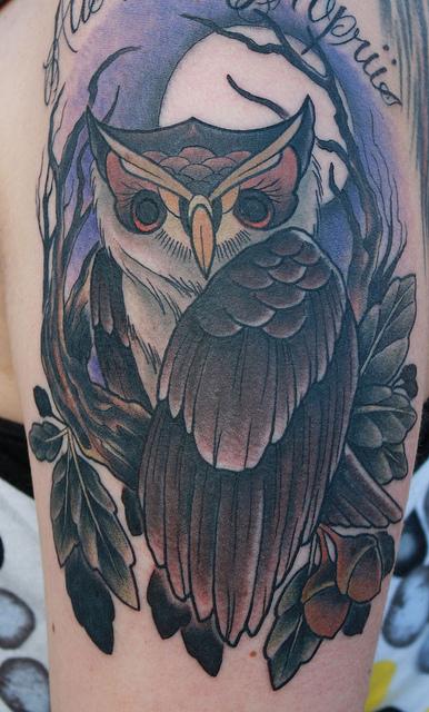 Tatuagens criativas de corujas (142)