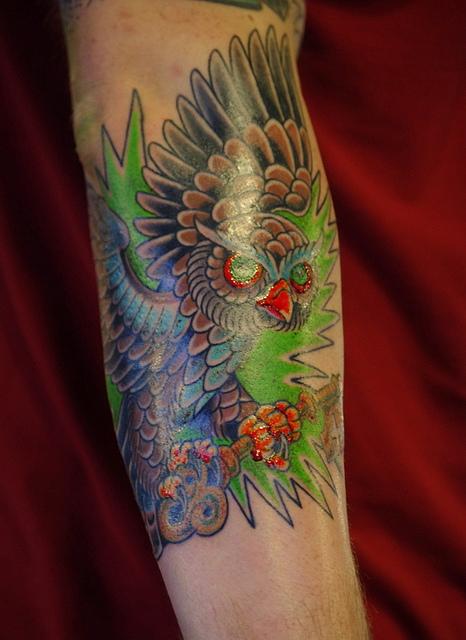 Tatuagens criativas de corujas (141)