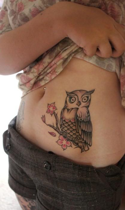Tatuagens criativas de corujas (138)
