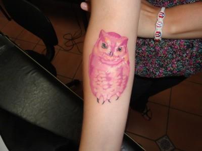 Tatuagens criativas de corujas (137)
