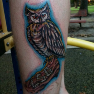 Tatuagens criativas de corujas (131)