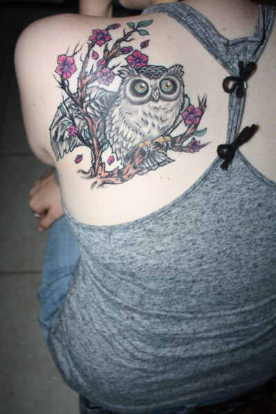 Tatuagens criativas de corujas (129)