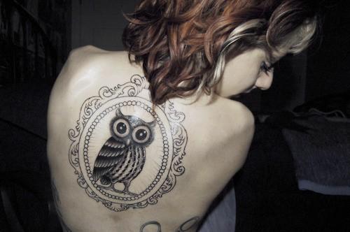 Tatuagens criativas de corujas (127)