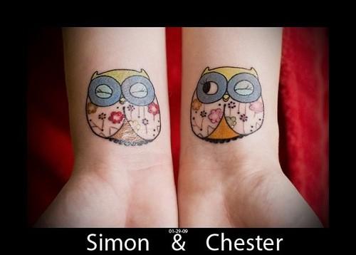 Tatuagens criativas de corujas (123)