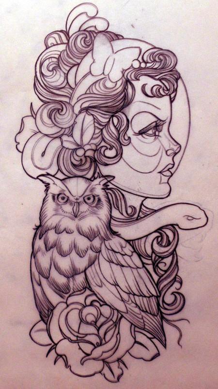 Tatuagens criativas de corujas (121)