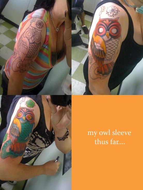 Tatuagens criativas de corujas (120)