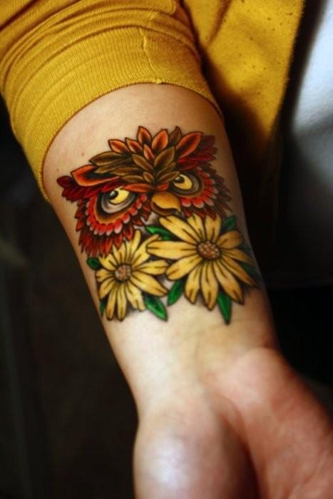 Tatuagens criativas de corujas (117)