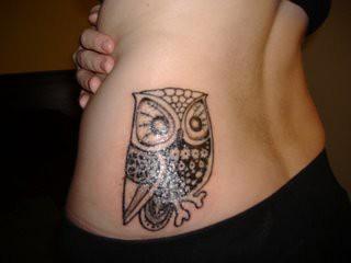 Tatuagens criativas de corujas (116)