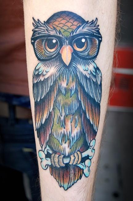 Tatuagens criativas de corujas (115)