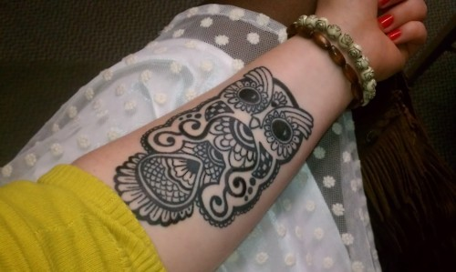 Tatuagens criativas de corujas (113)