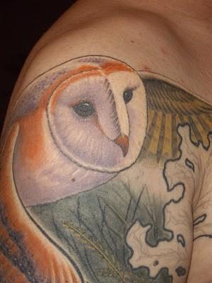 Tatuagens criativas de corujas (111)