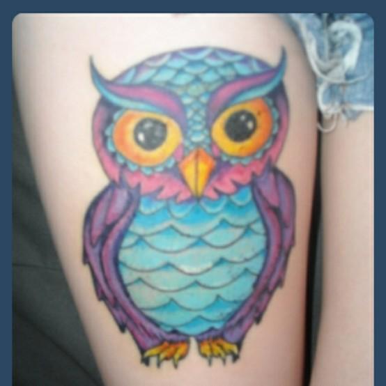 Tatuagens criativas de corujas (109)