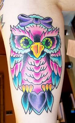 Tatuagens criativas de corujas (90)