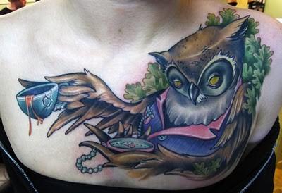 Tatuagens criativas de corujas (88)
