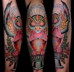 Tatuagens criativas de corujas (87)